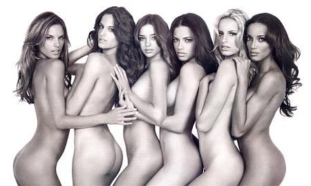 Adriana Lima posa desnuda