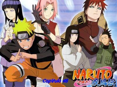 Naruto Shippuuden 48 español