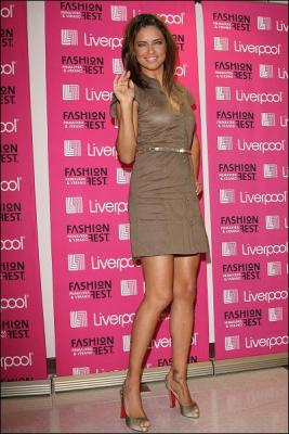 Adriana Lima en el Liverpool Fashion Fest 2008 (Mexico)